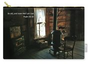 Scripture And Picture Psalm 46 10 Carry-all Pouch