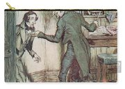 Scrooge And Bob Cratchit Carry-all Pouch