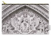 Sculpture Above North Entrance Of Westminster Abbey London Carry-all Pouch