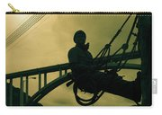 Sculpture - Hoover Dam Construction Worker Carry-all Pouch