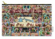 sculptures on Arulmigu Kapaleeswarar Temple, Chennai, Tamil Nadu Carry-all Pouch