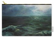 Sea And Sky Carry-all Pouch by Diane Kraudelt