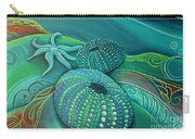 Sea Anemone Kina By Reina Cottier Carry-all Pouch