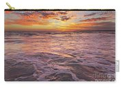 Sea At Sunset In Algarve Carry-all Pouch