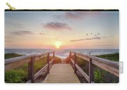 Sea Birds At Sunrise Carry-all Pouch