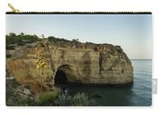 Sea Cave And Agave Bloom Spike - The Magic Of Algarve Portugal Carry-all Pouch