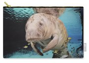 Sea Cow Swimming Underwater Carry-all Pouch