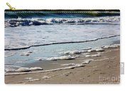 Sea Foam At The Shore Carry-all Pouch