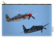 Sea Fury And Bearcat Carry-all Pouch