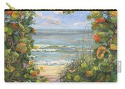 Sea Grape Heart Carry-all Pouch