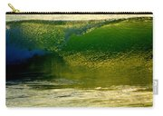 Sea Green Cascade  Carry-all Pouch