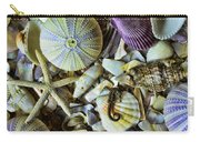 Sea Horse And Sea Star Carry-all Pouch