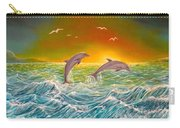 Sea In Action Carry-all Pouch