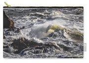 Sea In Turmoil Carry-all Pouch