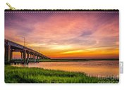 Sea Isle Sunset Carry-all Pouch
