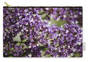 Sea Lavender Carry-all Pouch