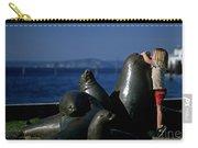 Sea Lion Sculpture  Carry-all Pouch