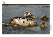 Sea Lions And Birds Carry-all Pouch