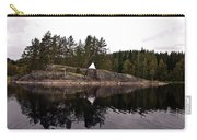 Sea Mark On An Islet At Lake Saimaa Carry-all Pouch
