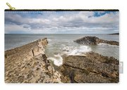 Sea Meets Rocks At Howick Carry-all Pouch