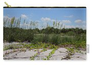Sea Oats And Blooming Cross Vine Carry-all Pouch