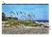 Sea Oats And Coastline Carry-all Pouch