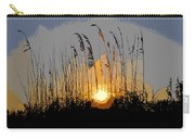 Sea Oats At Sunset Carry-all Pouch