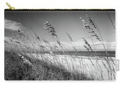 Sea Oats In Black And White Carry-all Pouch