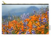 Sea Of California Wildflowers Carry-all Pouch