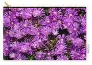 Sea Of Flowers Carry-all Pouch