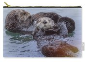 Sea Otter Love Mates  Carry-all Pouch