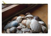 Sea Shells And Stones On Windowsill Carry-all Pouch