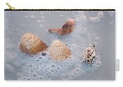 Sea Shells In An Ocean Wave Carry-all Pouch