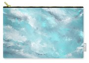 Sea Spirit - Teal And Gray Art Carry-all Pouch