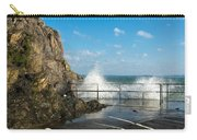Sea Spray At Mevagissey Harbour Carry-all Pouch