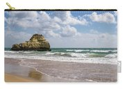 Sea Stack Sculpted Like A Ship Riding The Waves Carry-all Pouch