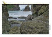 Sea Stacks And Boulders Washington State Carry-all Pouch