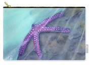Sea Star Rays Carry-all Pouch by Betsy Hackett