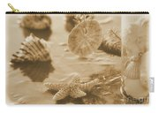 Sea Treasure -sepia Carry-all Pouch
