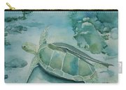 Sea Turtle And Friend Carry-all Pouch