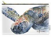 Sea Turtle - Large Size Carry-all Pouch