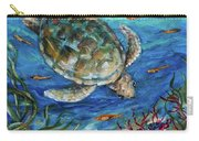 Sea Turtle Dive Carry-all Pouch