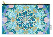 Sea Turtle Mandala  Carry-all Pouch