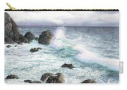 Sea Wave Carry-all Pouch
