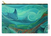 Seabed By Reina Cottier Carry-all Pouch