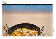 Seafood Paella In Cafe Carry-all Pouch