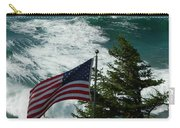 Seagull And Flag Carry-all Pouch