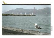 Seagull And Golden Gate Bridge Carry-all Pouch