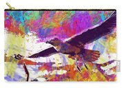 Seagull Birds Flight Wings Freedom  Carry-all Pouch