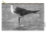 Seagull Black And White Carry-all Pouch